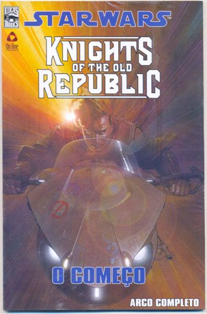 STAR WARS KNIGHTS OF THE OLD REPUBLIC - ED. ENCADERNADA - ON LIN