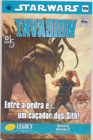 STAR WARS nº19 - INVASION - ED. ON LINE