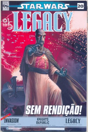 STAR WARS nº20 - LEGACY - ED. ON LINE