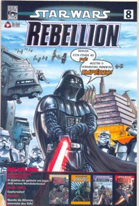 STAR WARS nº08 - REBELLION - ED. ON LINE