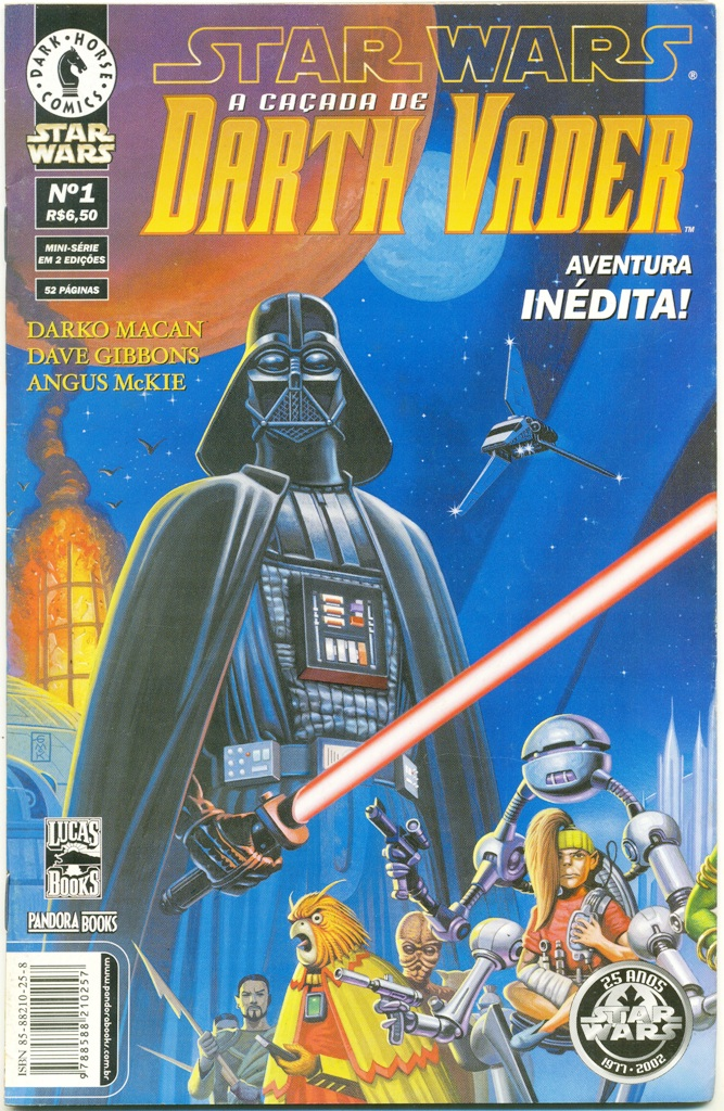 STAR WARS - A CAÇADA DE DARTH VADER - PARTE 1 - ED. PANDORA BOOK