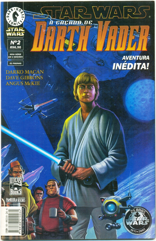 STAR WARS - A CAÇADA DE DARTH VADER - PARTE 2 - ED. PANDORA BOOK