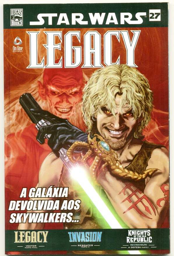 STAR WARS nº27 - LEGACY - ED. ON LINE