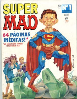 SUPER MAD nº01 - EDITORA RECORD