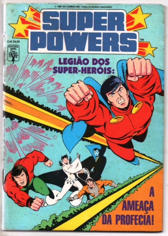 SUPERPOWERS nº07 - EDITORA ABRIL