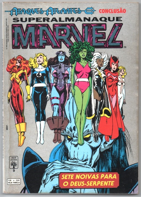 SUPERALMANAQUE MARVEL n°09 - EDITORA ABRIL