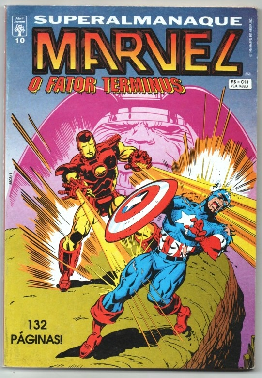 SUPERALMANAQUE MARVEL n°10 - EDITORA ABRIL