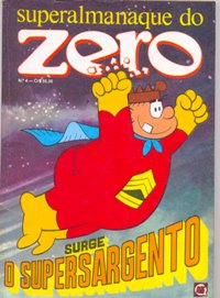 SUPERALMANAQUE DO ZERO nº04 - EDITORA RGE