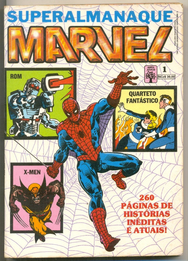 SUPERALMANAQUE MARVEL n°01 - EDITORA ABRIL