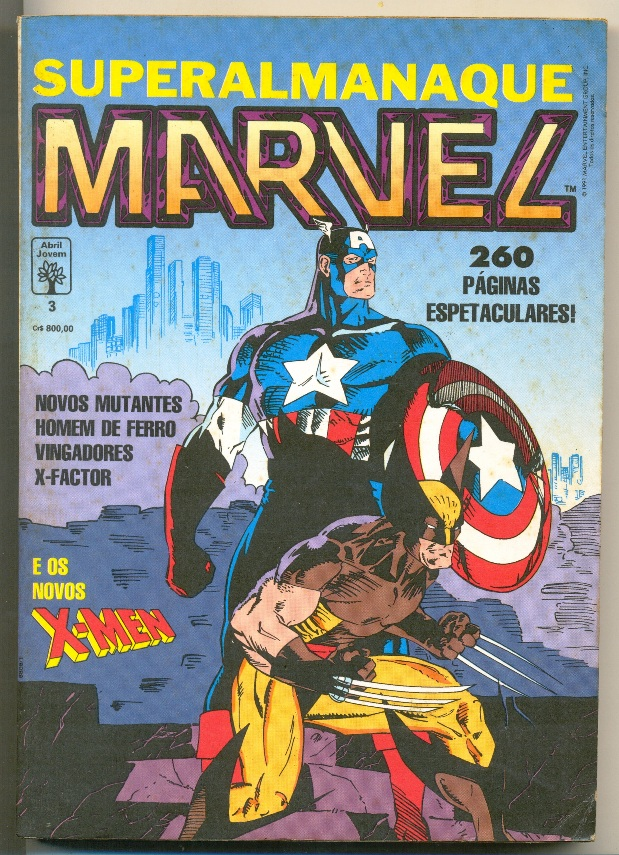 SUPERALMANAQUE MARVEL n°03 - EDITORA ABRIL