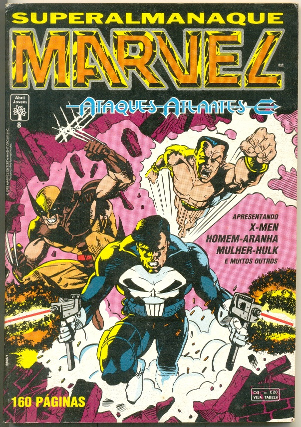 SUPERALMANAQUE MARVEL n°08 - EDITORA ABRIL