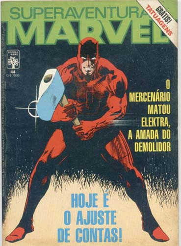 SUPERAVENTURAS MARVEL nº044 - ED. ABRIL