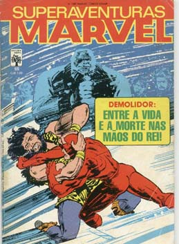SUPERAVENTURAS MARVEL nº055 - ED. ABRIL