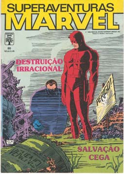 SUPERAVENTURAS MARVEL nº080 - ED. ABRIL