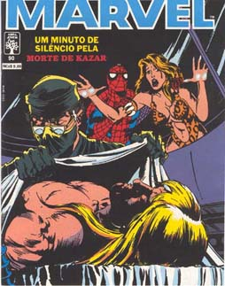 SUPERAVENTURAS MARVEL nº090 - ED. ABRIL