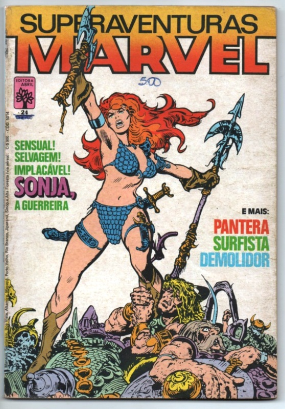 SUPERAVENTURAS MARVEL nº024 - ED. ABRIL