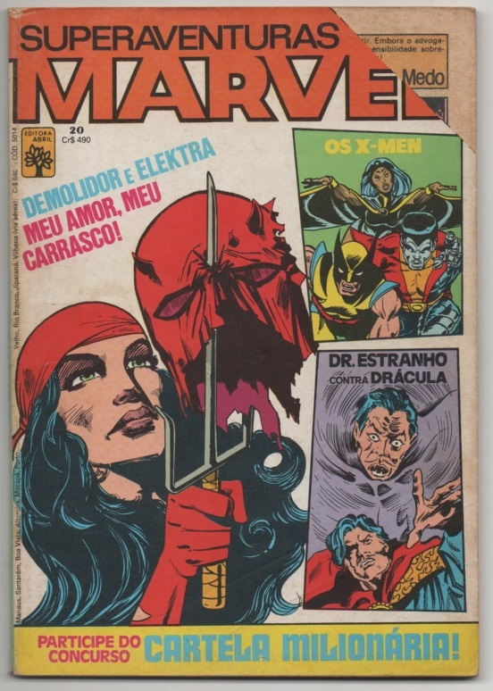 SUPERAVENTURAS MARVEL nº020 - ED. ABRIL