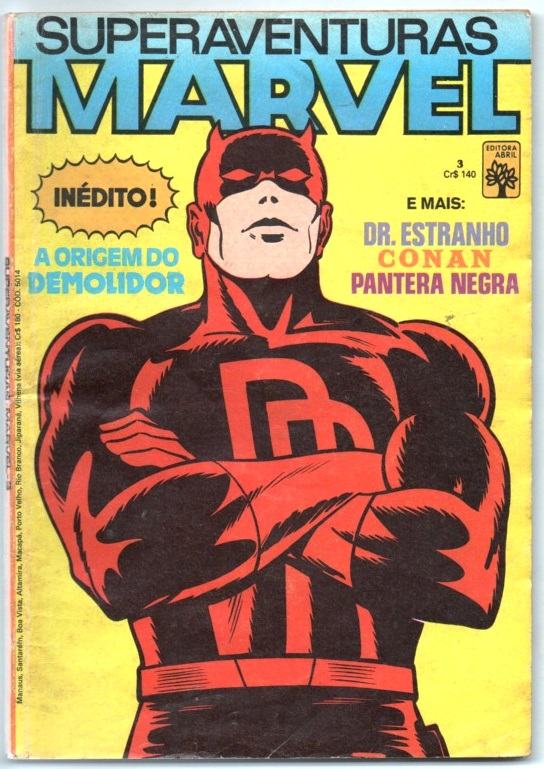 SUPERAVENTURAS MARVEL nº003 - ED. ABRIL