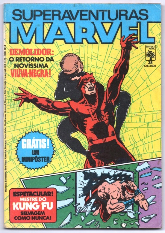 SUPERAVENTURAS MARVEL nº038 - ED. ABRIL