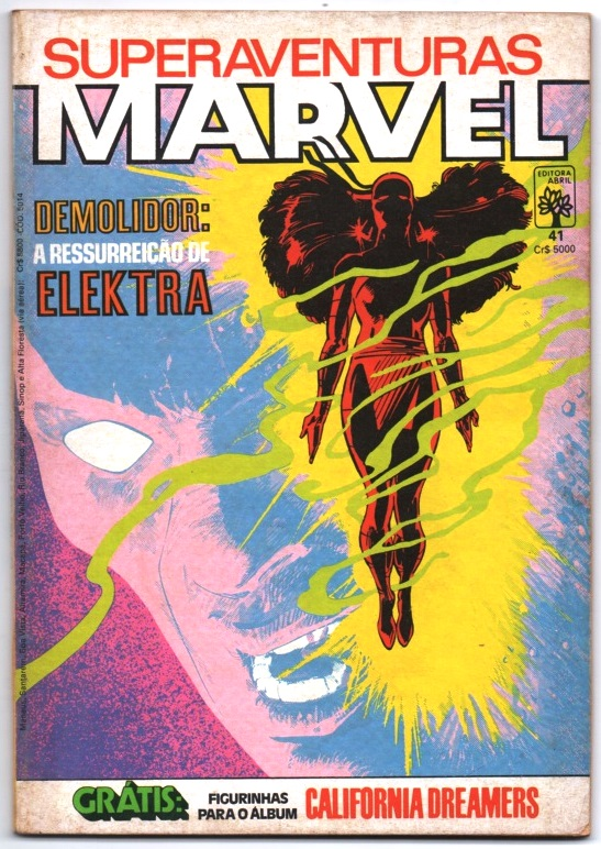 SUPERAVENTURAS MARVEL nº041 - ED. ABRIL