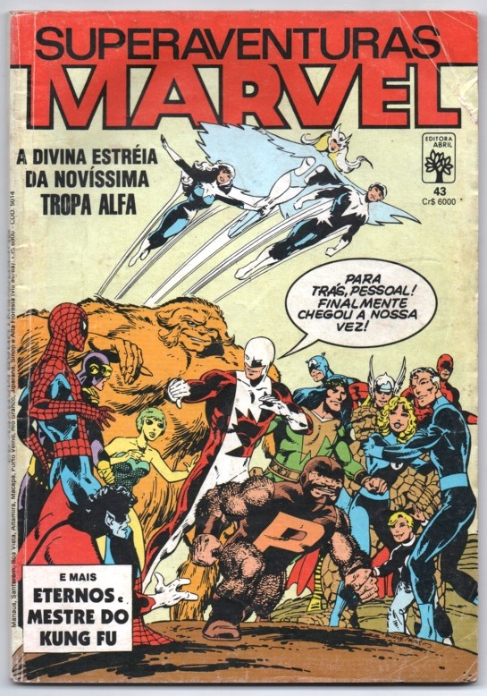 SUPERAVENTURAS MARVEL nº043 - ED. ABRIL