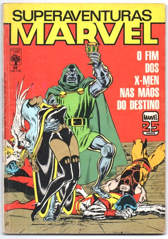 SUPERAVENTURAS MARVEL nº048 - ED. ABRIL