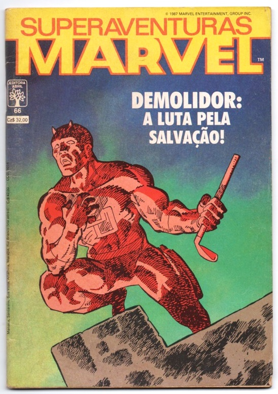 SUPERAVENTURAS MARVEL nº066 - ED. ABRIL