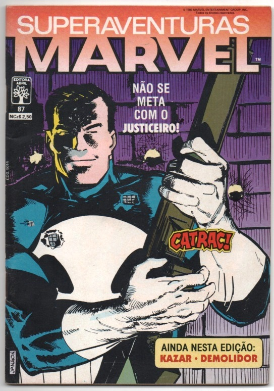 SUPERAVENTURAS MARVEL nº087 - ED. ABRIL