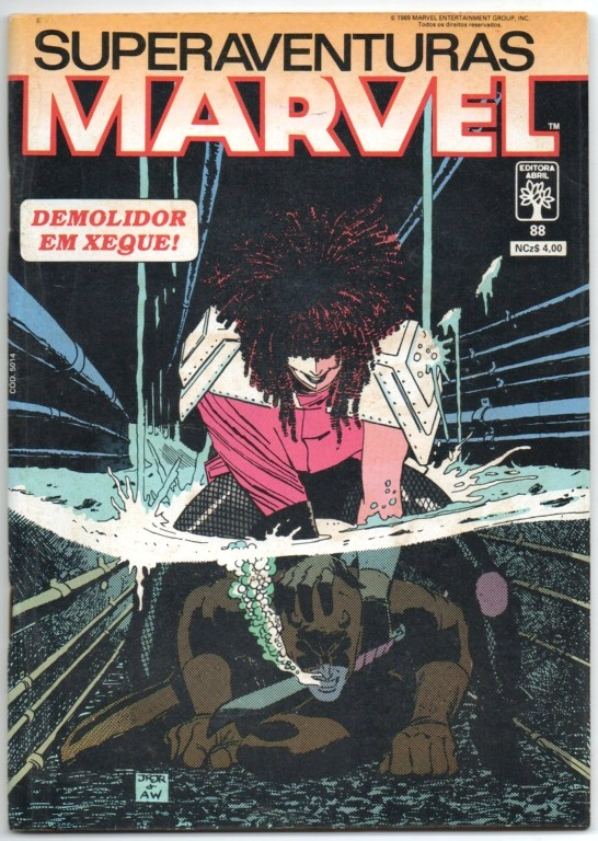 SUPERAVENTURAS MARVEL nº088 - ED. ABRIL