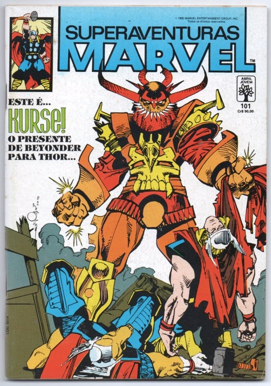 SUPERAVENTURAS MARVEL nº101 - ED. ABRIL