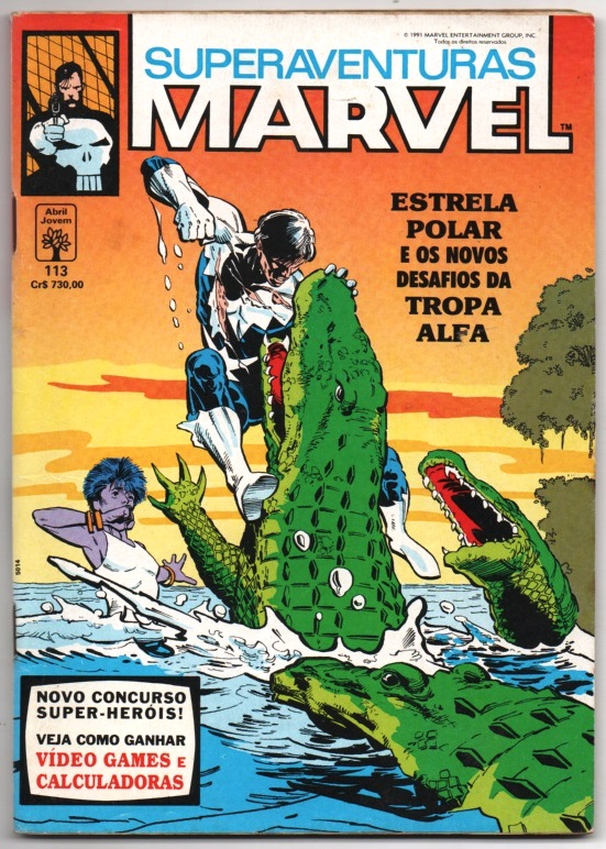 SUPERAVENTURAS MARVEL nº113 - ED. ABRIL