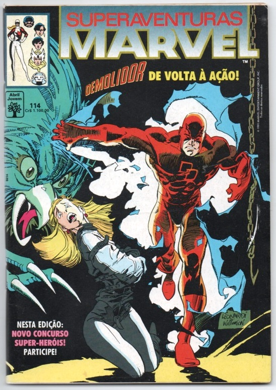 SUPERAVENTURAS MARVEL nº114 - ED. ABRIL