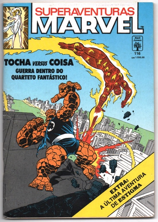 SUPERAVENTURAS MARVEL nº116 - ED. ABRIL