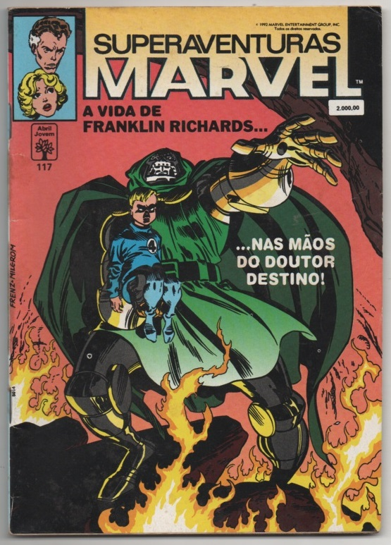 SUPERAVENTURAS MARVEL nº117 - ED. ABRIL
