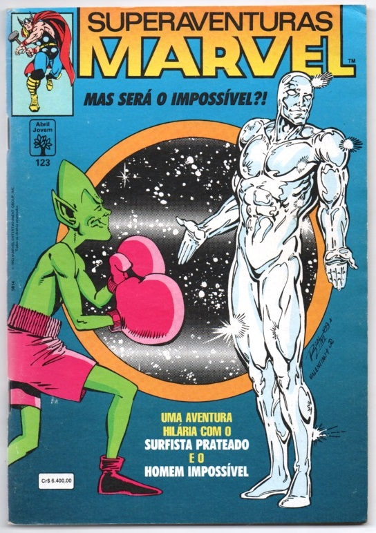 SUPERAVENTURAS MARVEL nº123 - ED. ABRIL