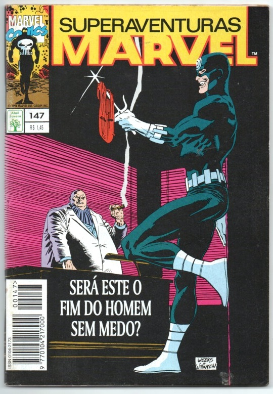 SUPERAVENTURAS MARVEL nº147 - ED. ABRIL