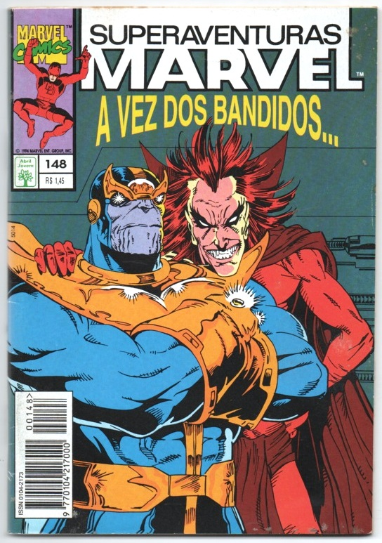 SUPERAVENTURAS MARVEL nº148 - ED. ABRIL
