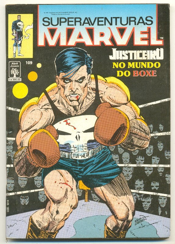 SUPERAVENTURAS MARVEL nº109 - ED. ABRIL