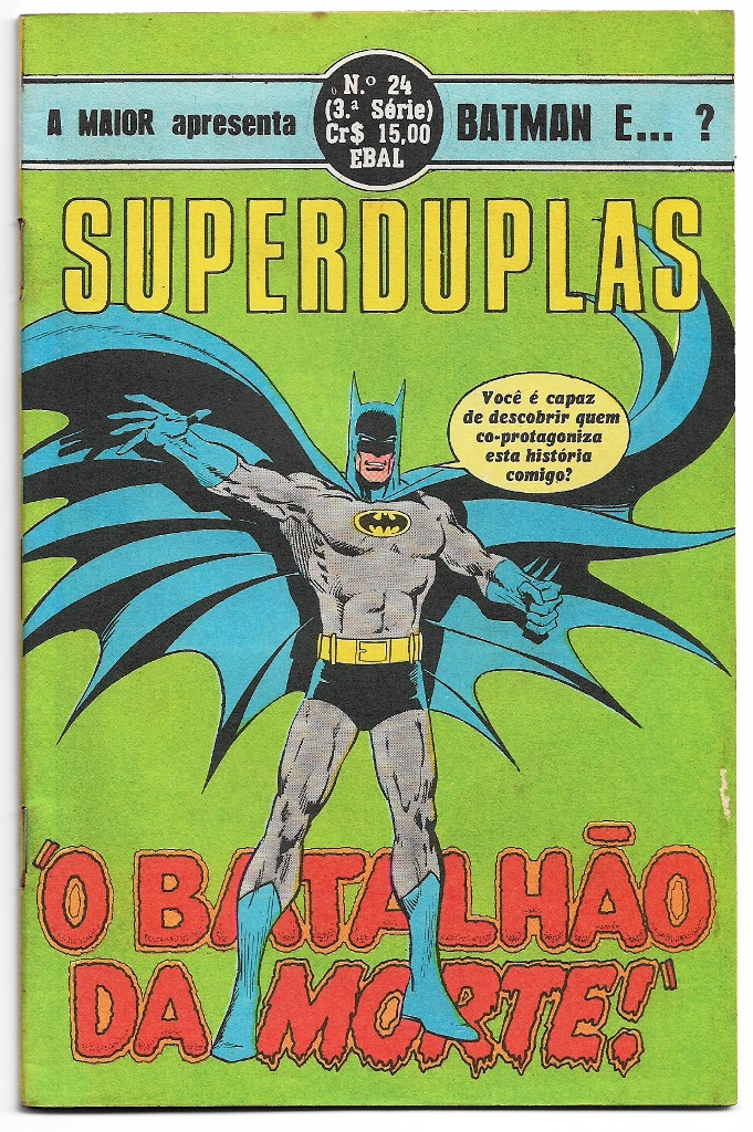 SUPERDUPLAS nº24 - BATMAN E ...? - EBAL