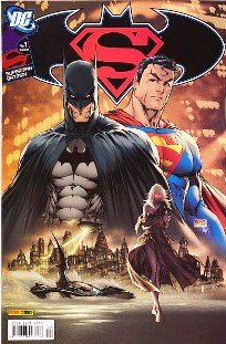 SUPERMAN & BATMAN nº001 - EDITORA PANINI