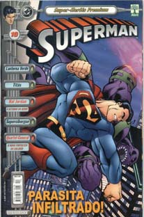 SUPERMAN PREMIUM n°10 - EDITORA ABRIL