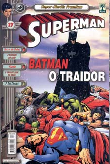 SUPERMAN PREMIUM n°17 - EDITORA ABRIL