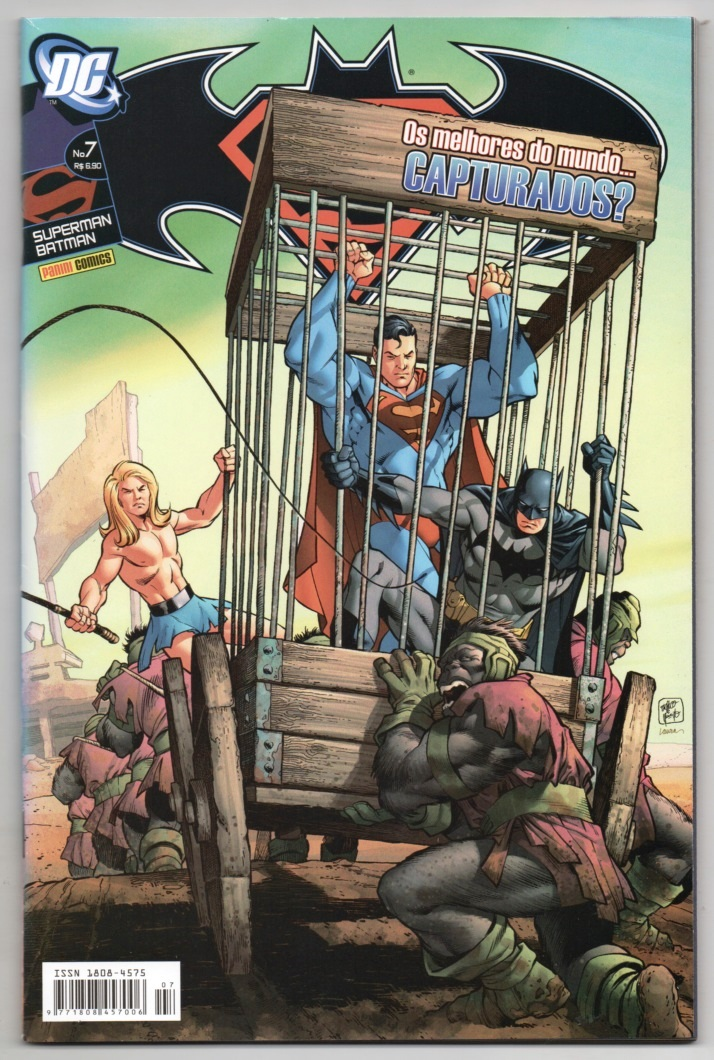 SUPERMAN & BATMAN nº007 - EDITORA PANINI