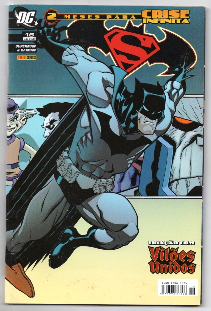 SUPERMAN & BATMAN nº016 - EDITORA PANINI