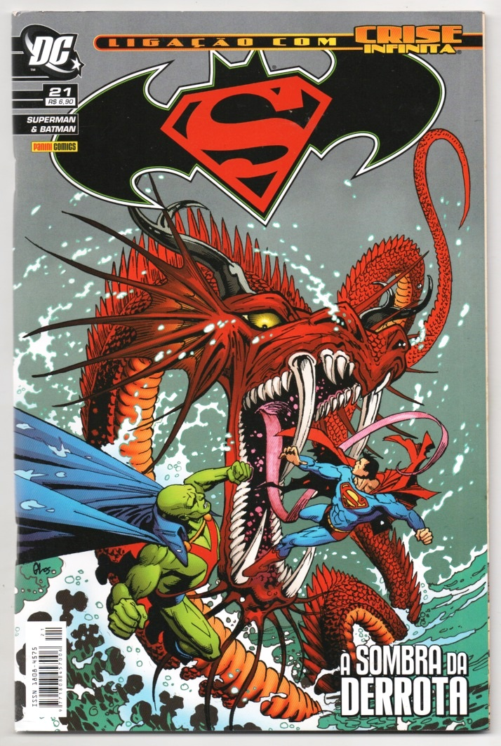 SUPERMAN & BATMAN nº021 - EDITORA PANINI