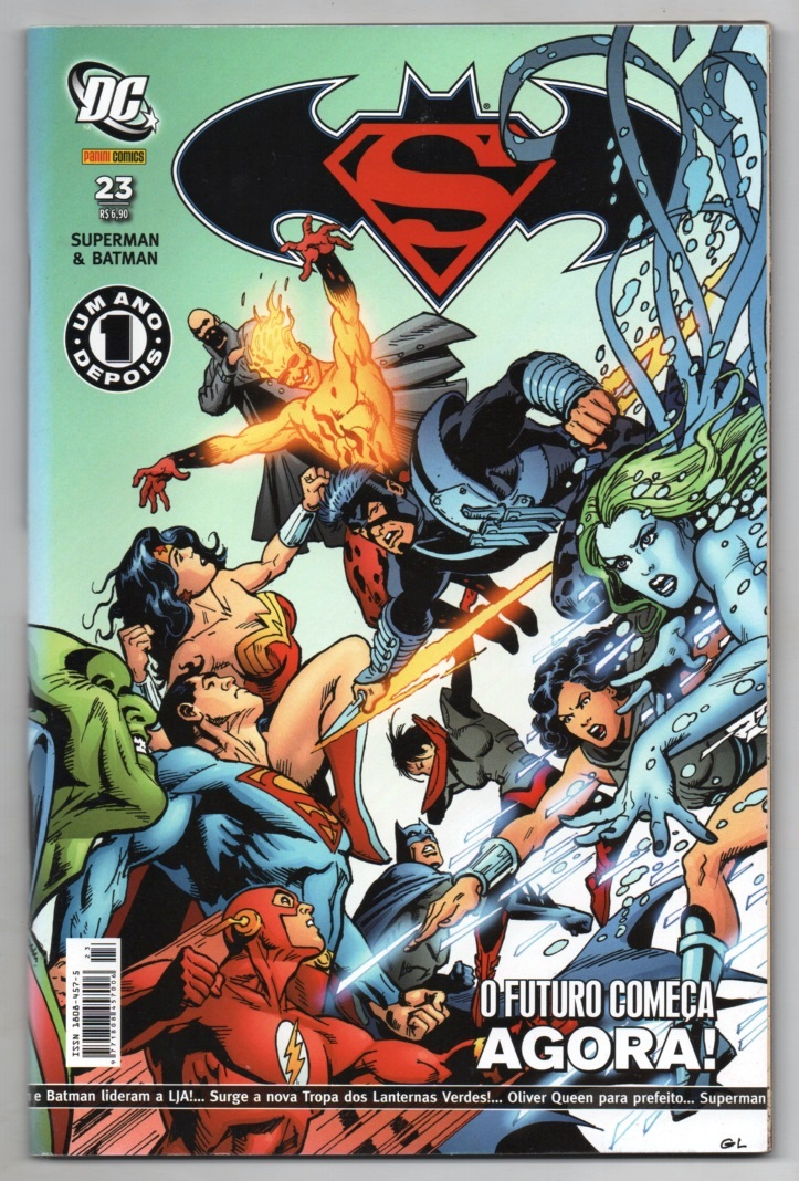 SUPERMAN & BATMAN nº023 - EDITORA PANINI