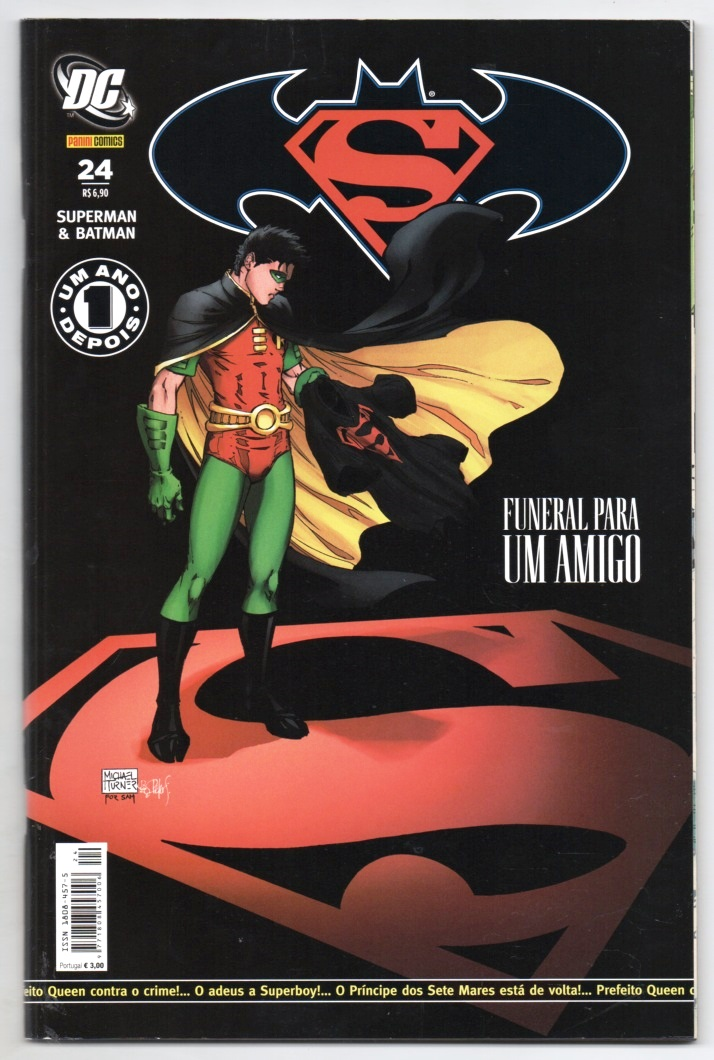 SUPERMAN & BATMAN nº024 - EDITORA PANINI
