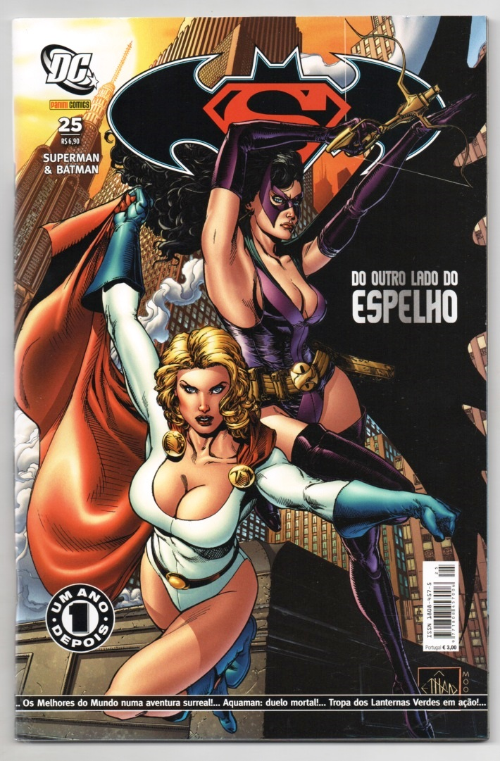 SUPERMAN & BATMAN nº025 - EDITORA PANINI