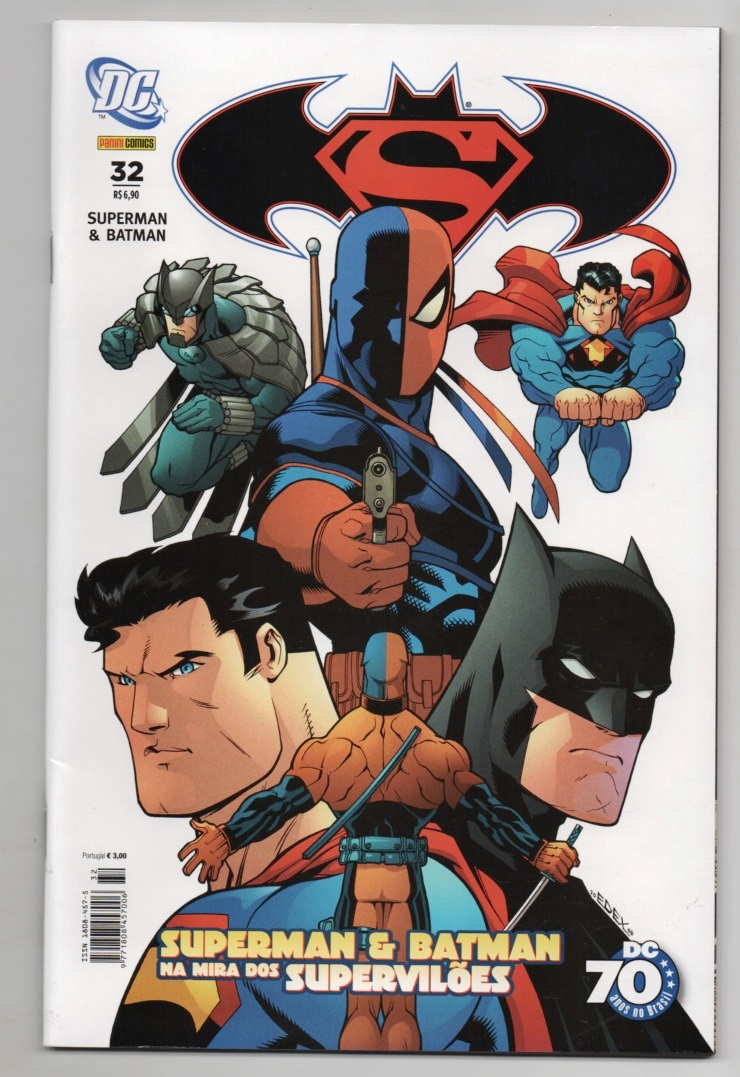 SUPERMAN & BATMAN nº032 - EDITORA PANINI