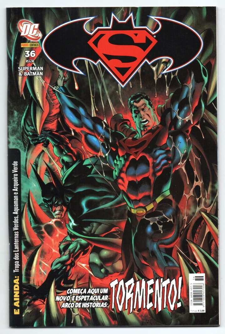 SUPERMAN & BATMAN nº036 - EDITORA PANINI